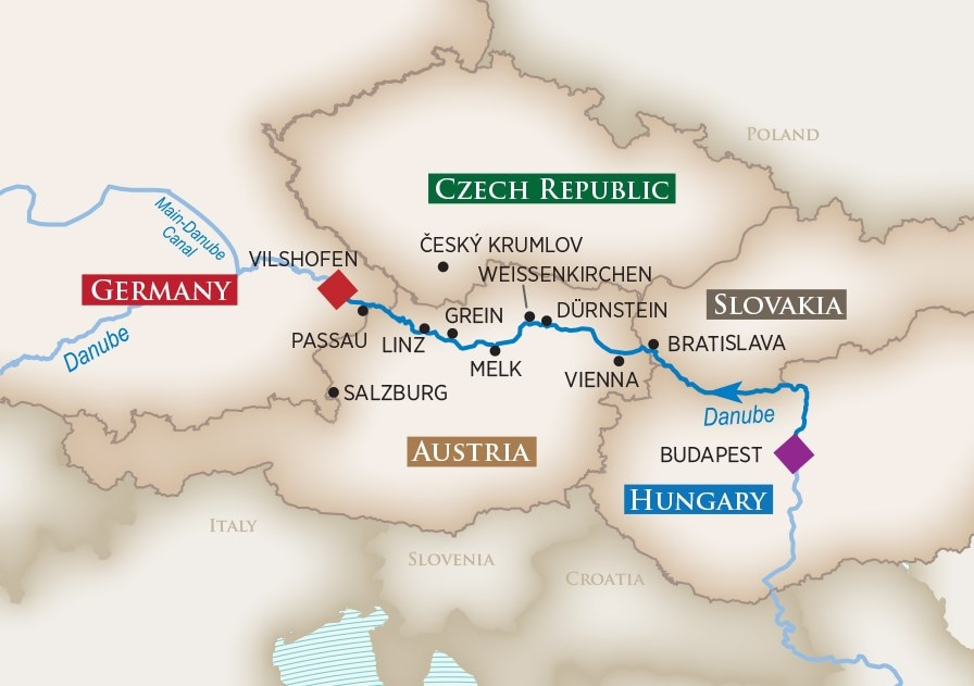 Melodies of The Danube River Cruise 2018 | AmaWaterways™