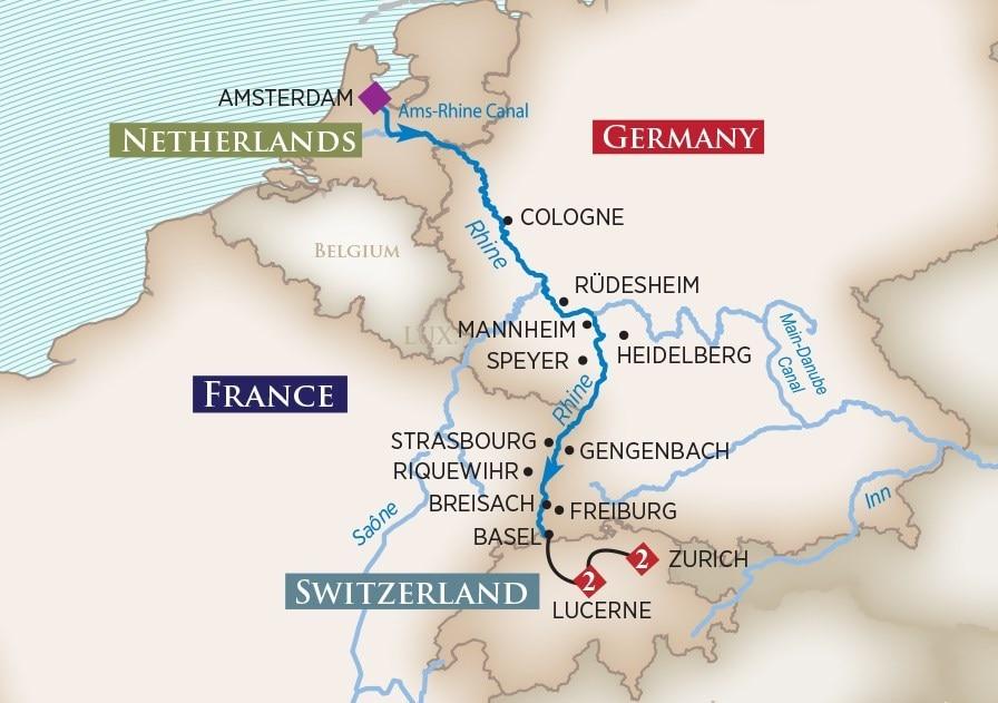 River Cruises Germany Christmas Markets